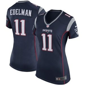 Women's New England Patriots Julian Edelman Jersey